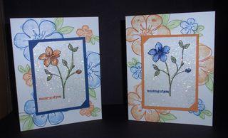 DazzlingDiamondDustTech-blue&orangeflowers