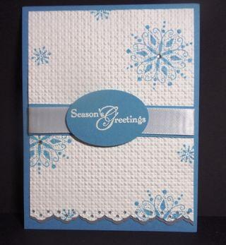 SnowSwirledSquareLatticeCard